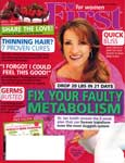 Dry Scalp? Try Emu Oil - First Magazine February 2014 - Cover