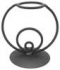 Wrought Iron Egg Stand Circle Design